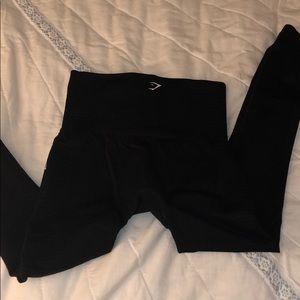Gymshark SMALL energy seamless black leggings